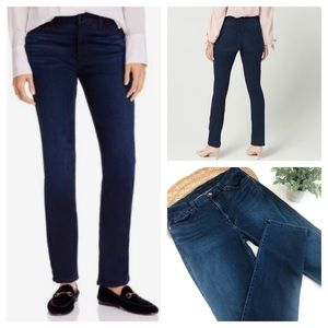 Jen 7 By 7 For All Mankind Slim Straight Jeans 12